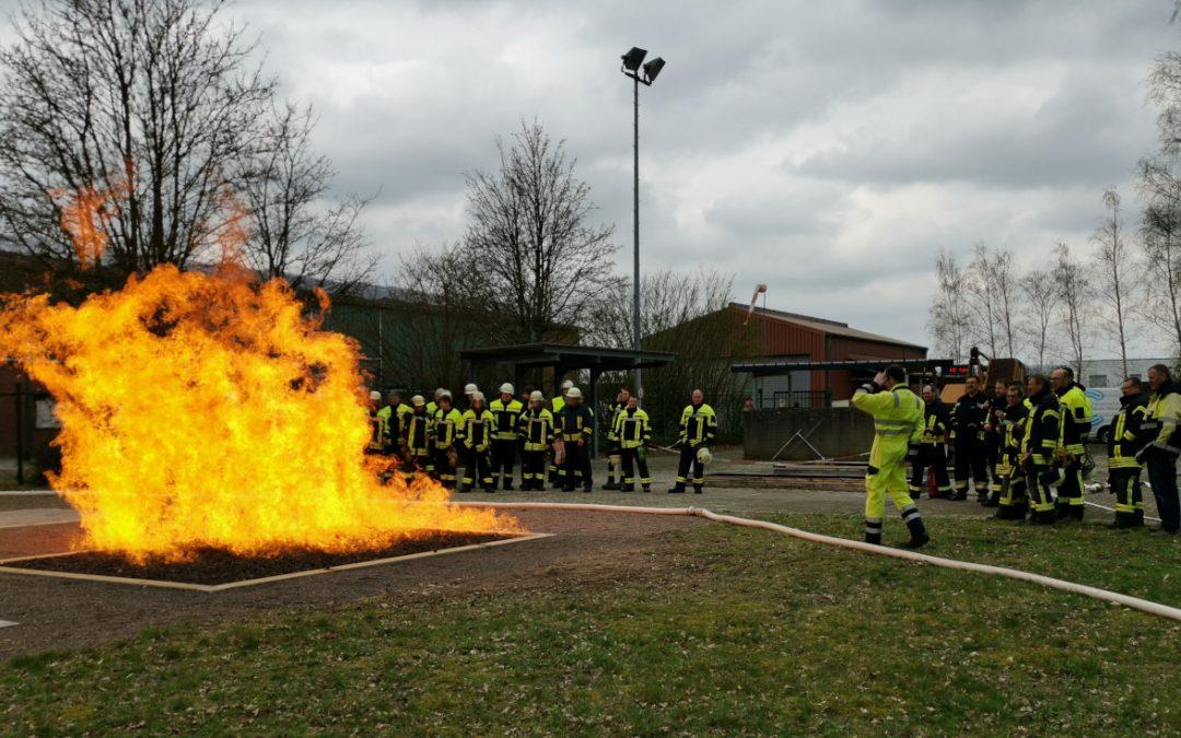 Feuerwehr in der Gasversorgung