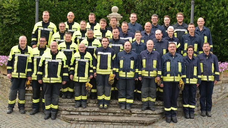 Mannschaft Feuerwehr Herrstein