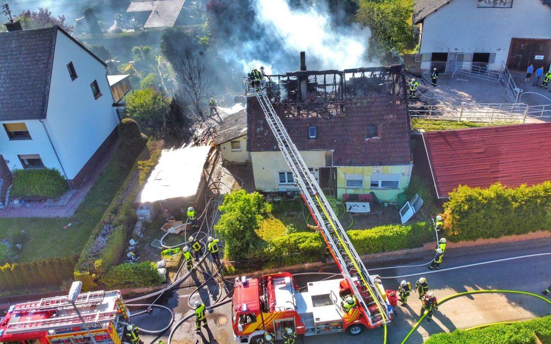 30.Mai 2020 Gebäudebrand in Sien