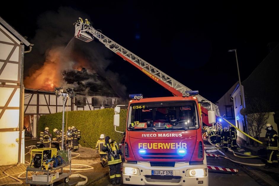 21.03.2021 Gebäudebrand in Herborn