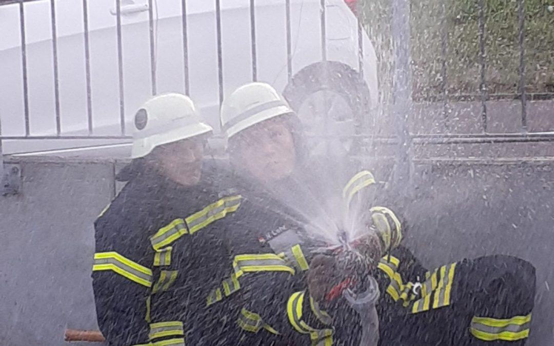 Türcheck und Rauchgaskühlung